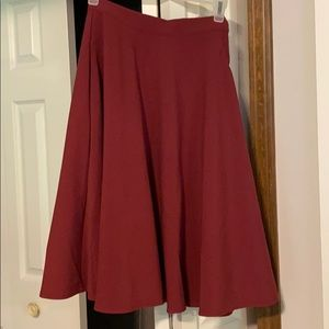 Just This Sway A-Line Skirt - ModCloth